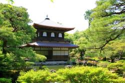Ginkaku-ji Silberpavillon in Kyoto