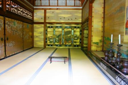prächtige Gemälde im Ninna-ji-Tempel