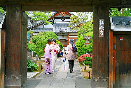 Eingang zum Tenryu-ji-Tempel