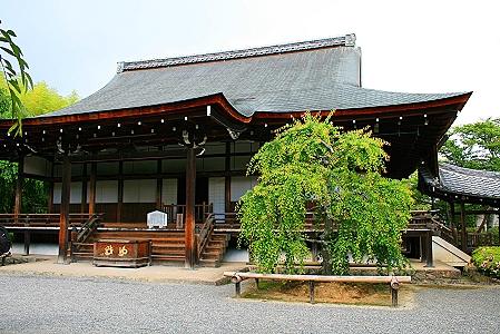 Kleiner Tempel in Tenryu-ji
