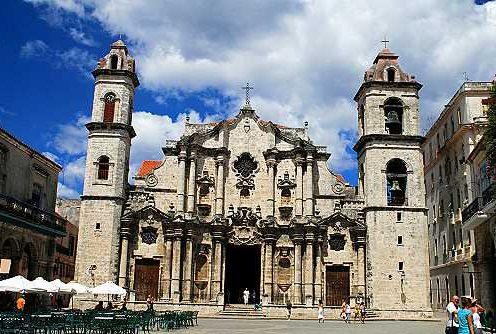 >Kathedrale San Cristóbal auf der Plaza de la Catedral