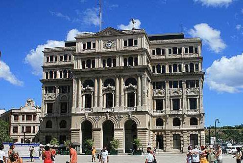 Der Plaza Vieja (Alter Platz) in Havannas Altstadt