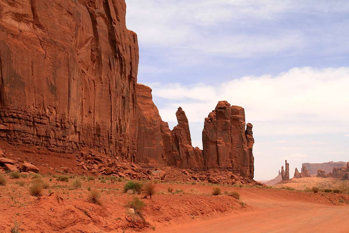 God Mesa, the Hand, und der Totem Pole