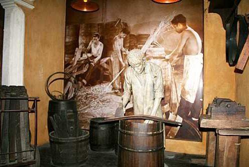 Bild aus dem Rum-Museum Havanna