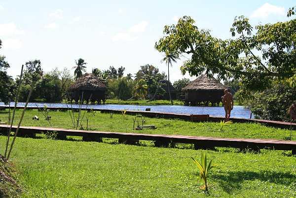 Indianerdorf Guama