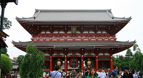 Senjo Ji Tempel Tokyo