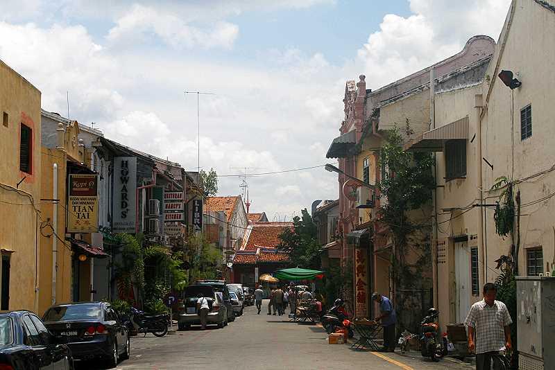 Straßenbild Melaka