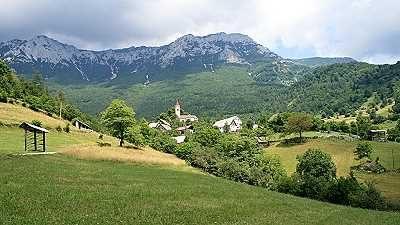 Rovt, das kleine 56 Seelen umfassende Alpendorf