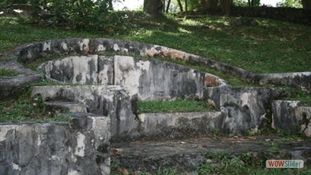Bukit China-Chinesische Gräber