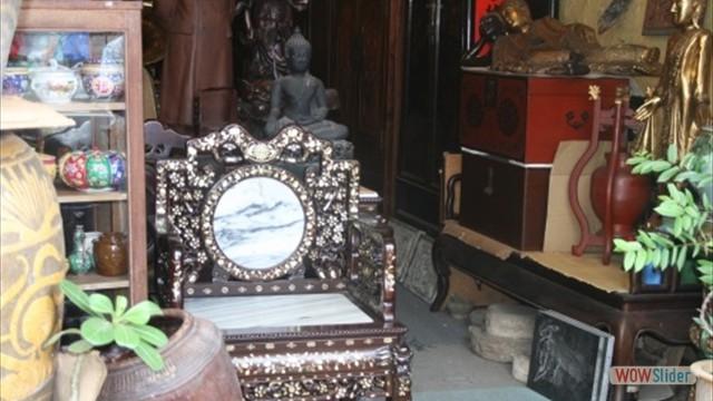 Antiquitäten- und Trödelläden