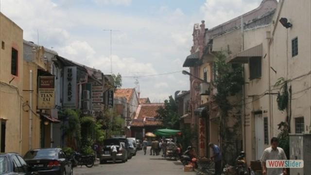 Seitenstraße im historischen Zentrum