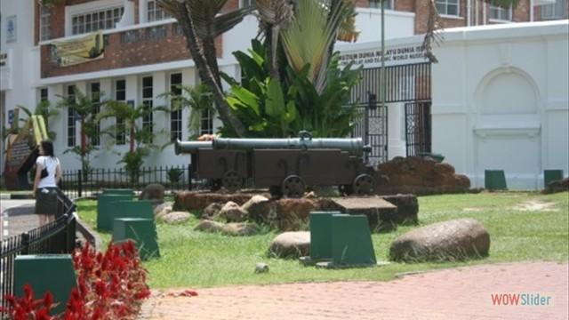 Reste des potugisischen Forts Porta de Santiago