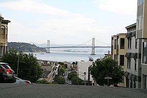 San Francisco, Blick auf die Golden Gate