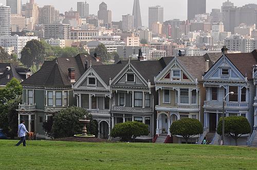 Victorianische Häuser