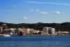 Blick auf den Hafen von Sant Antoni