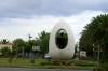 Das Ei des Columbus zu Ehren des Weltentdeckers Christopher Columbus