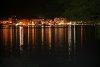 Hafen von Sant Antoni bei Nacht