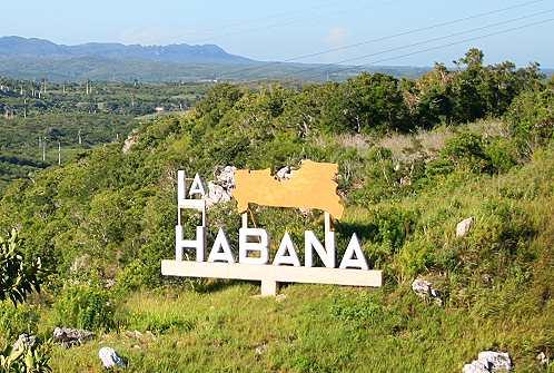 La Habana kündigt sich an