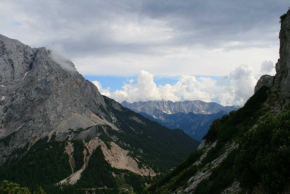 panorama julische alpen