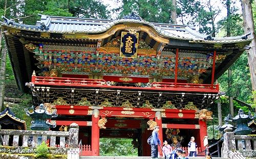 Nitenmon Tor, Nikko, Japan