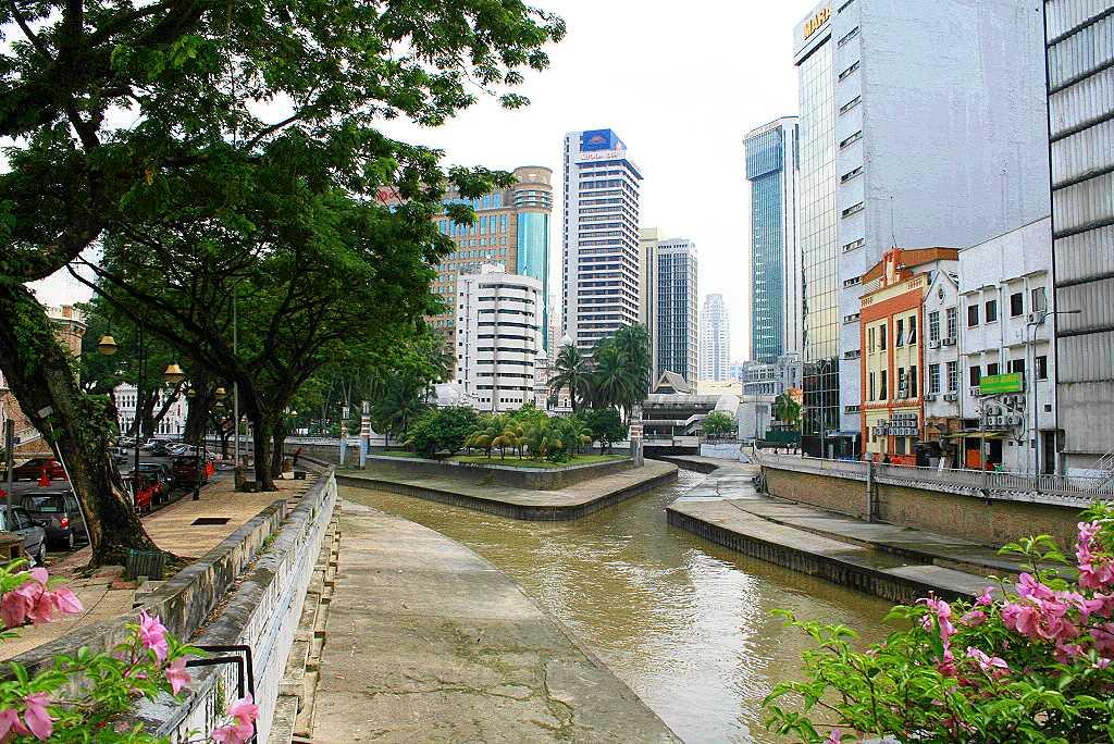 Kuala Lumpur Fluss