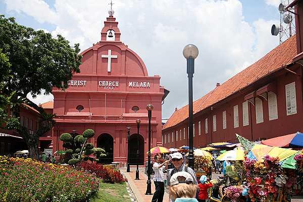 Christus Kirche auf den Dutch Square