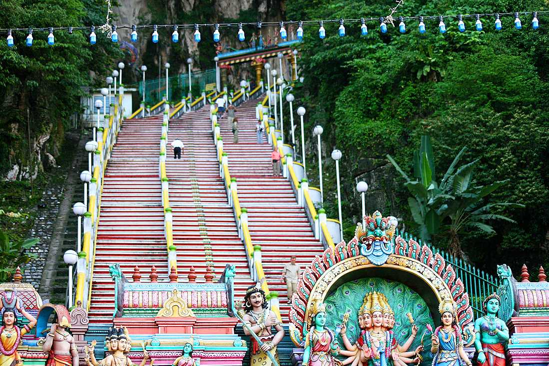 Höhlentempel Batu Caves