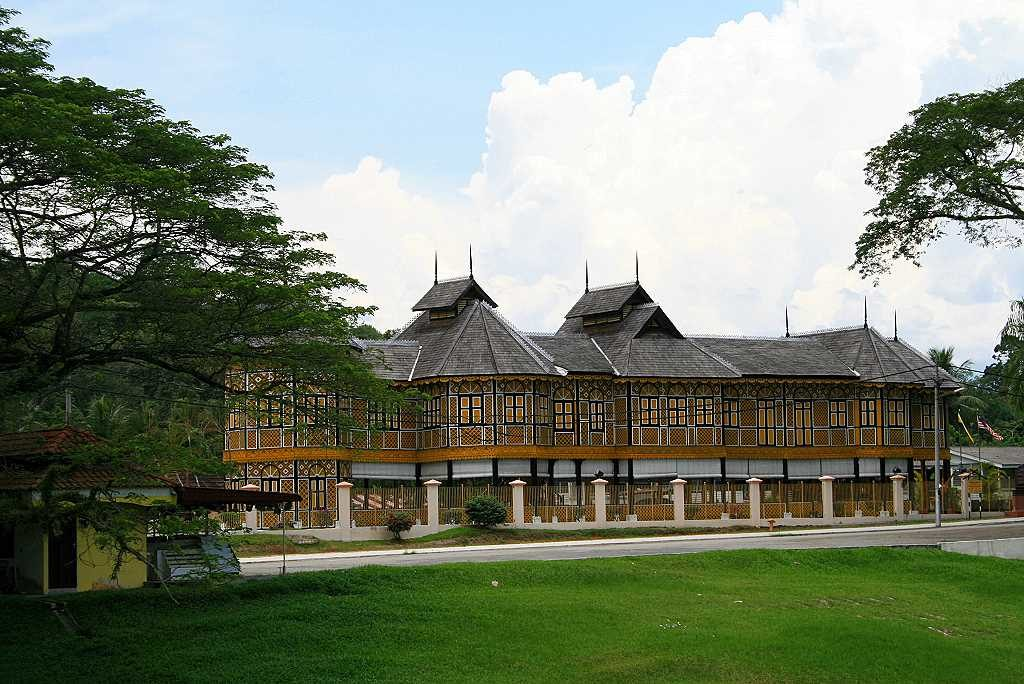 Alter Sultanspalast in Kuala Kangsar