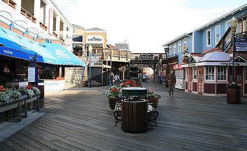 Touristenzone Pier 39